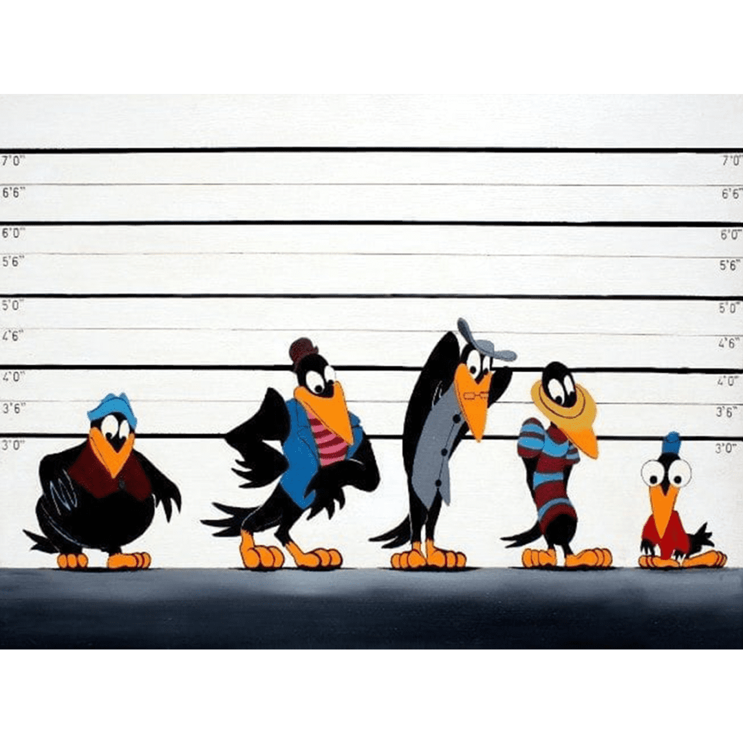 The Usual Suspects giclee